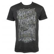 tričko pánské West Coast Choppers - LOCK UP - Vintage grey - WCCTS132671GR