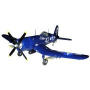 Guillow'S Ww Ii Us Navy F4U-4 Corsair Fighter Giant Balsa Scale Model Flying Plane