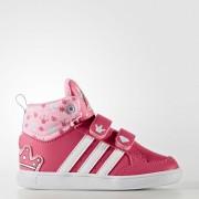 Adidas Детски Кецове Hoops CMF Mid INF CG5738