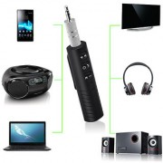Pen Shape Car Bluetooth Clip-on Wireless Bluetooth Receiver 3.5mm Jack Bluetooth Audio Music adapter with Mic cellhub