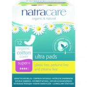 Absorbante bio Natracare - ultra subtire cu un strat absorbant natural (4 picaturi), 12 buc