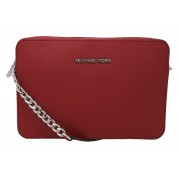 Geanta Michael Kors Jet Set Saffiano Leather 32S4STVC3L Red Large