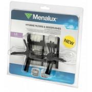 Motorový filtr 3ks a 6x metličky pro LG HOM-BOT Menalux MRK03