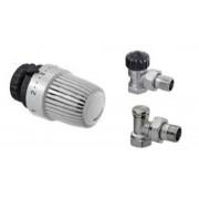 """Set robineti 1/2"""" (tur/retur) + cap termostatat HEIMEIER Calypso Tip S"""