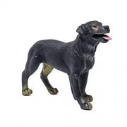 Rottweiler Hound Retriever Dog Figure Toys 3.5 inch - Realistically Detailed Animal Toy Figures Dog Replica Model