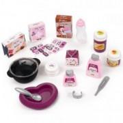 Jucarie Centru de ingrijire papusi Baby Nurse Doll Mov 23 accesorii
