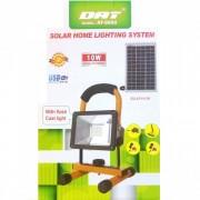 Proiector LED 10W cu Incarcare Solara DAT AT8890