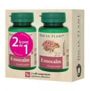 Pachet Emocalm 60cpr 1+1 Gratis DACIA PLANT
