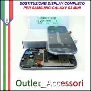 Sostituzione Display Samsung Galaxy S3 Mini i8200 Lcd Vetro Schermo Rotto Riparazione Cambio Assemblaggio GT-I8190