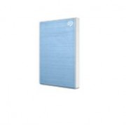 Seagate Backup Plus Slim 2 TB - Light Blue - Meerkleurig - Grootte: Onesize