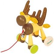 Janod Zigolos Pull Along Elk Baby Toy