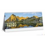 Stolový kalendár Vysoké Tatry 2021