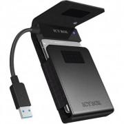 "Raidsonic IB-AC6031-U3 2,5"" SATA3 USB3.0 HDD Black"