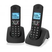 Alcatel Telefone Alcatel F380-S Duo DECT Preto
