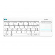 Logitech Teclado / raton K400 PLUS TV Blanco