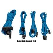 Corsair Professional Individually sleev. DC Cable Kit, Type 4 (Gen. 3), Albastru