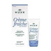Coffret crème fraîche de beauté pele seca 50ml + huile prodigieuse 30ml - Nuxe