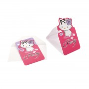 Invitatii petrecere Charmmy Hello Kitty hearts