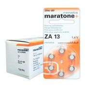 Baterii auditive zinc-aer Renata Maratone+ ZA13