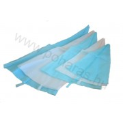 Fehér/kék szilikon habzsák [35cm]