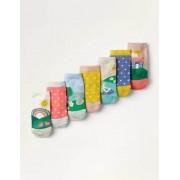 Mini Bunt, Szenen Box mit Socken im 7er-Pack Baby Baby Boden, 86, Multi