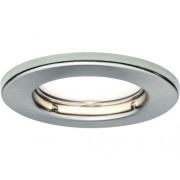 Spoturi incastrabile fixe Nice Price GU10 3W Ø82 mm, becuri LED incluse, nichel mat, 3 bucati