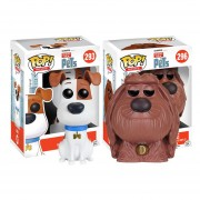 Max Duke Set 2 Piezas Funko Pop Pelicula Mascotas Pets INCLUYE BOLSA POP PARA REGALO