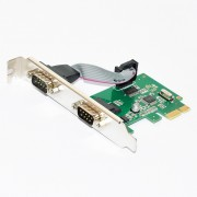 I/O, PCI Express to Serial, MAKKI 2x serial (MAKKI-PCIE-2XSERIAL-V1)