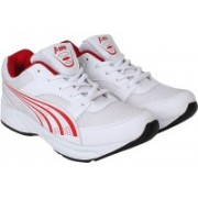 AMG Aero Performance Shoes Casuals For Men(White, Red)