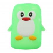 3D Forma de pingüinos en la tapa de la caja de silicona para Blackberry 9360 /9350 /9370/Curve