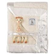 Set cadou paturica moale pentru bebe Prestige si Girafa Sophie Vulli