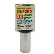 Javítófesték Ford Jewel Green U3 PC9CWWA Arasystem 10ml