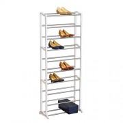 Lynk Estante para Zapatos, Blanco, 30 Pares, 1