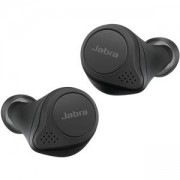 Слушалки Jabra Elite 75t True Wireless Stereo In-Ear Headphones (Bluetooth 5.0, 28 Hours Battery Life, with Charging Case), Classic, Black