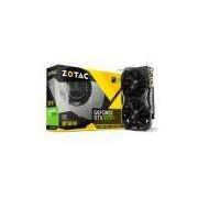 Placa de Vídeo VGA NVIDIA Zotac GEFORCE GTX 1070 TI Mini 8GB DDr5 8000Mhz ZT-P10710G-10P