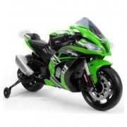 Moto Kawasaki Zx10 12V Verde - Injusa