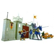 King Knight & Castle Wall Playset 1/32 Playsets