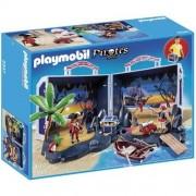 Playmobil pirates isola del tesoro portatile