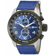 Invicta Watches Invicta Men's 19411 Aviator Analog Display Quartz Blue Watch BlueBlue