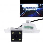 720? 40 effectieve Pixel 50HZ PAL / NTSC 60HZ CMOS II waterdicht auto Rear View back-up Camera met 4 LED-lampen voor 2014-2016 versie BMW 2 serie/3 serie/5-serie/X1/X3/X4/X5/X6
