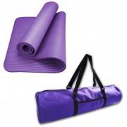 Pack Mat Yoga 12mm + Bolso Con Bolsillo Fabric. Nacional