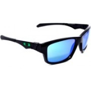 Oakley Rectangular Sunglass(Blue)