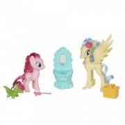 Set de joaca Pinkie Pie si Printesa Skystar Party Friends My Little Pony