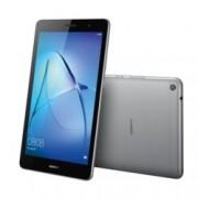"""Таблет Huawei Mediapad T3 (сив), LTE, 8"""" (20.32 cm) WXGA IPS дисплей, четириядрен Qualcomm MSM8917 A53 1.4GHz, 2GB RAM, 16GB Flash памет (+ microSD слот), 5Mpix & 2Mpix камера, Android 7.0 Nougat, 350g"""