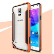 Армирана рамка (Bumper) за Samsung Galaxy Note 4 N910 - оранжева
