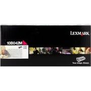 Lexmark Tóner magenta Original 10B042M