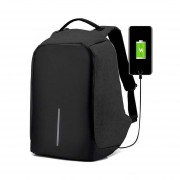 Redlemon Mochila Backpack Antirrobo ContraAgua Laptop Tablet - Negro