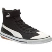 Puma 917 Mid DP Canvas Shoes For Men(Black)