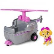 Игрален комплект Пес Патрул - Скай с хеликоптер, 025051
