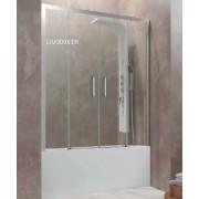 Mampara de Bañera Aktual Spazio/ Mampara de bañera Aktual spazio Frost Plus